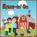 Blaze-in' on